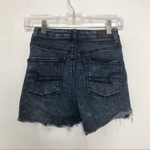 American Eagle Outfitters Shorts - AE high waisted distressed denim jean shorts-550